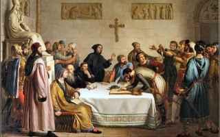Storia: barbarossa  il giuramento di pontida
