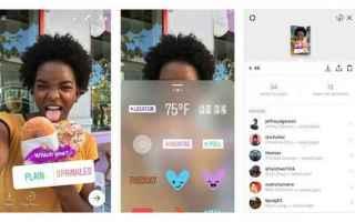 Instagram: instragram  storie  sondaggi