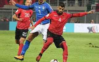 Nazionale: calcio  mondiali  italia  albania