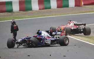 Formula 1: formula 1  suzuka  ferrari  incidenti