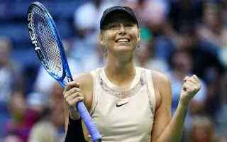 Tennis: tennis grand slam sharapova errani
