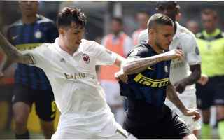 Serie A: inter  milan  derby