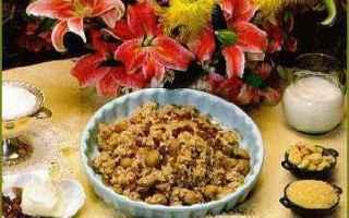 Ricette: cucina siciliana  dolce  castagne  riso