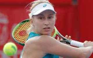 Tennis: tennis  grand slam gavrilova hong kong