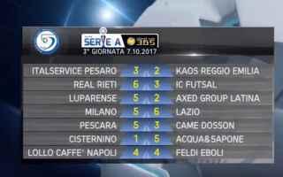 Serie minori: futsal  calcio a 5