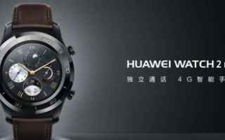 smartwatch  huawi watch 2 pro