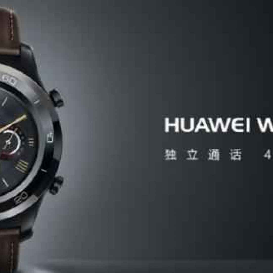 smartwatch  huawi watch 2 pro