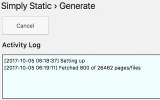 Blog: wordpress  sito statico