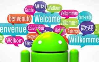 lingue  studio  android  applicazioni