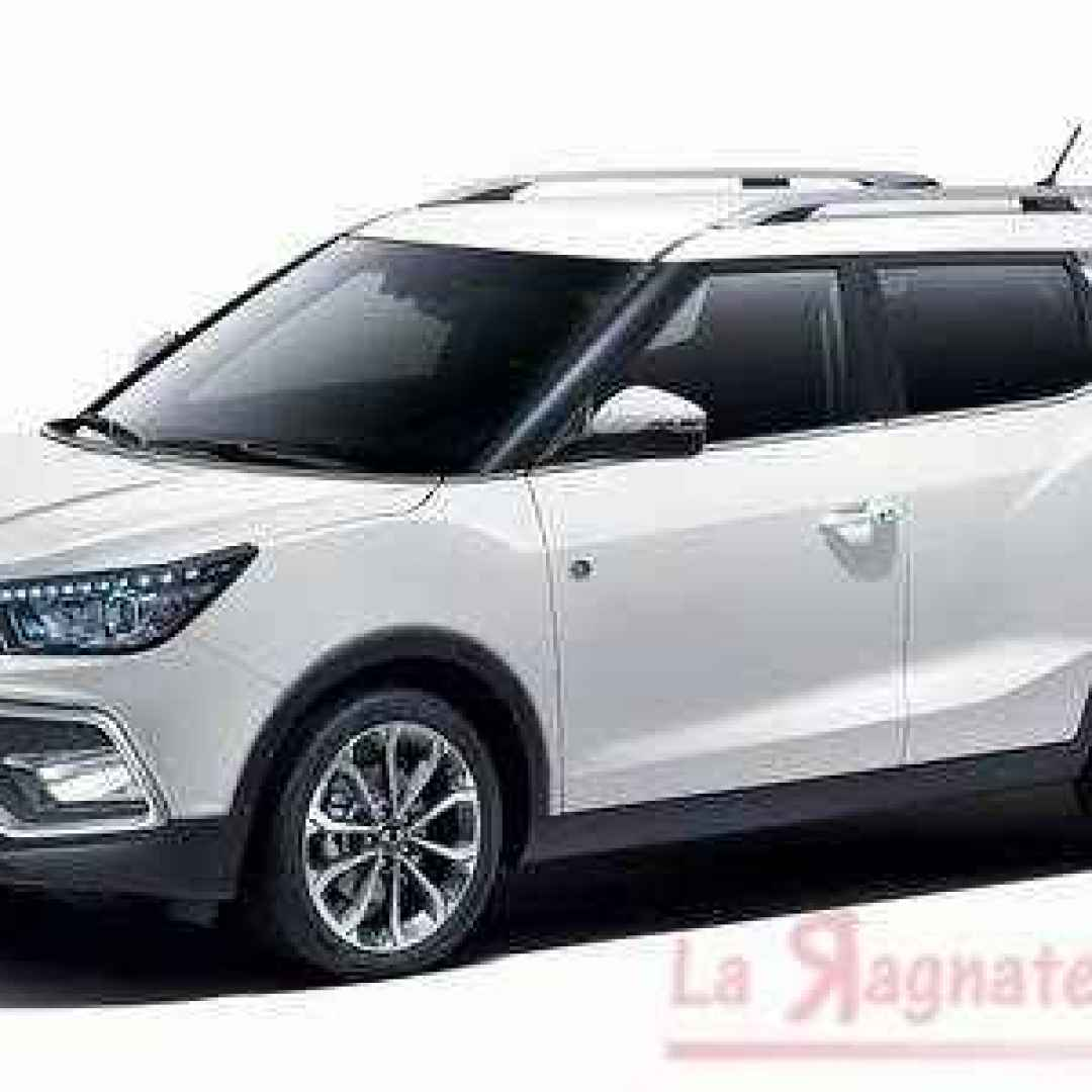 xlv  ssangyong  crossover