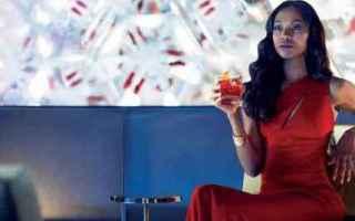 Cinema: campari  spot  zoe saldana  pubblicità  trailer