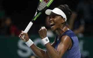 Tennis: tennis grand slam wta finals venus