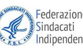 Federazione Sindacati Indipendenti F.S.I. 96100 Siracusa (SR) via Milano 46 ITALIA mob.:3711400660 T