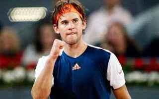Tennis: tennis grand slam parigi-bercy thiem