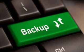 vai all'articolo completo su backup