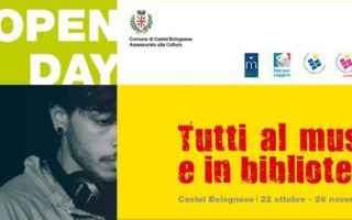 Cultura: castel bolognese  biblioteca  open day