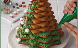 Ricette: torta  decorare  natale  cucina