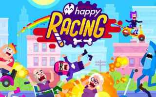 Mobile games: happy racing  racing  games  android  iphone