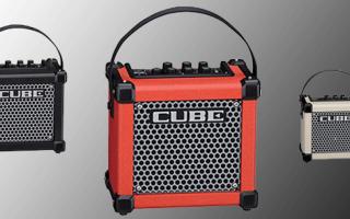 Audio: roland micro cube gx 3w  guitar amp