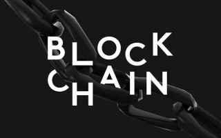 Economia: blockchain  criptovalute