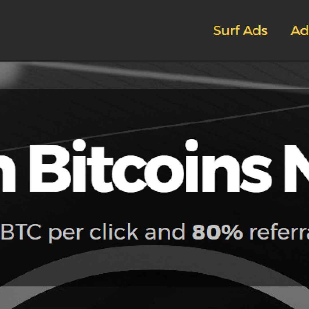 bitcoin ptc lavoro soldi