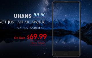 Cellulari: uhans mx  smartphone  android  tech