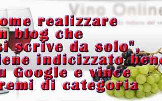 SEO: sito web  autoprodotto  algoritmo  vino