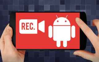 Android: screen recorder android app video