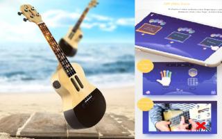 ukulele smart  xiaomi populele  tech