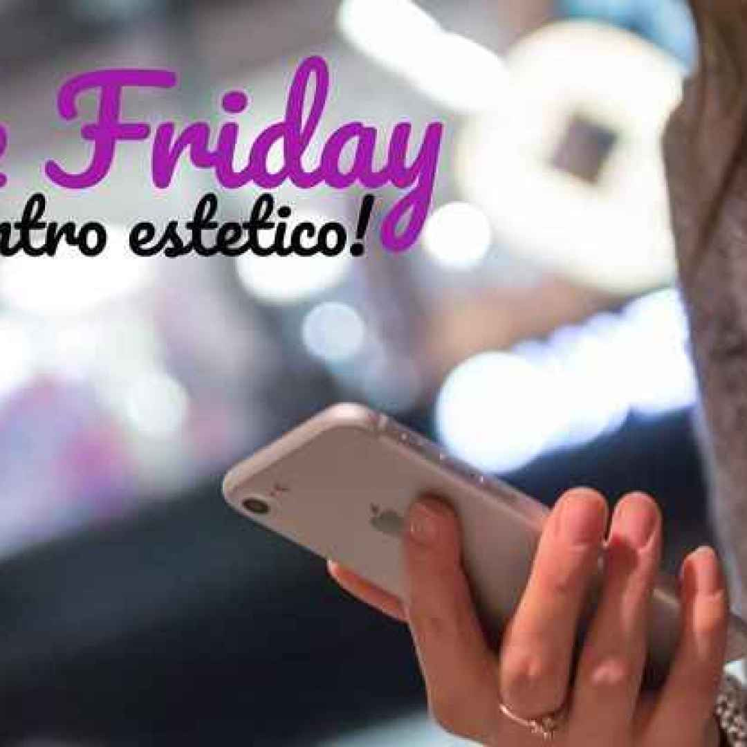 black friday  centro estetico  marketing