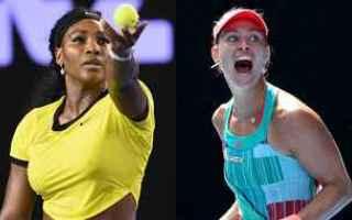 Tennis: tennis grand slam news kerber serena