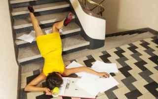 Leggi e Diritti: condominio scale caduta danni