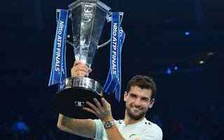 Tennis: tennis grand slam dimitrov atp finals
