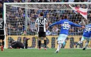 Calcio: calcio  serie a  juventus  sampdoria
