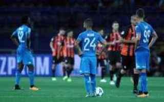 Champions League: napoli  shakhtar  champions league  pron