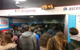 Roma: metroa  roma  trasporto pubblico