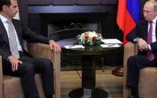 dal Mondo: russia  siria  putin  assad