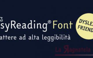 Tutto italiano il font creato per facilitare la lettura a chi soffre di dislessia. Il grafico torine