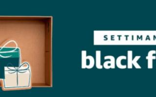 Amazon: black friday  amazon  tech  offerte