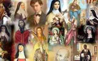 Religione: santi 24 novembre  calendario  giornata