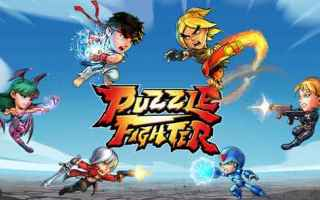 Mobile games: android iphone puzzle fighter capcom