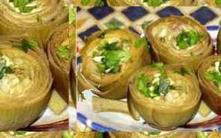 Ricette: carciofi  cucina siciliana  acciughe