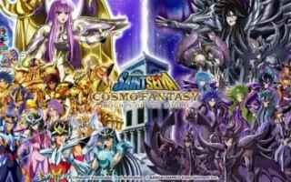 Anime: saint seya cosmo fantasy  cavalieri dello zodiaco  videogame  saint seya