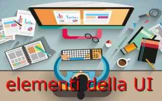 Web Design: visual design  interfaccia grafica ui