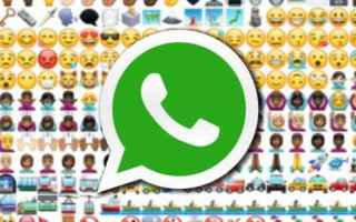 Social Network: whatsapp faccine emoticons