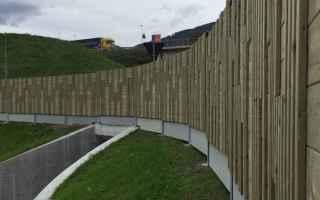 Ambiente: antirumore barriere fonoassorbenti legno