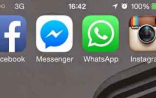 Facebook: messenger  instagram  whatsapp