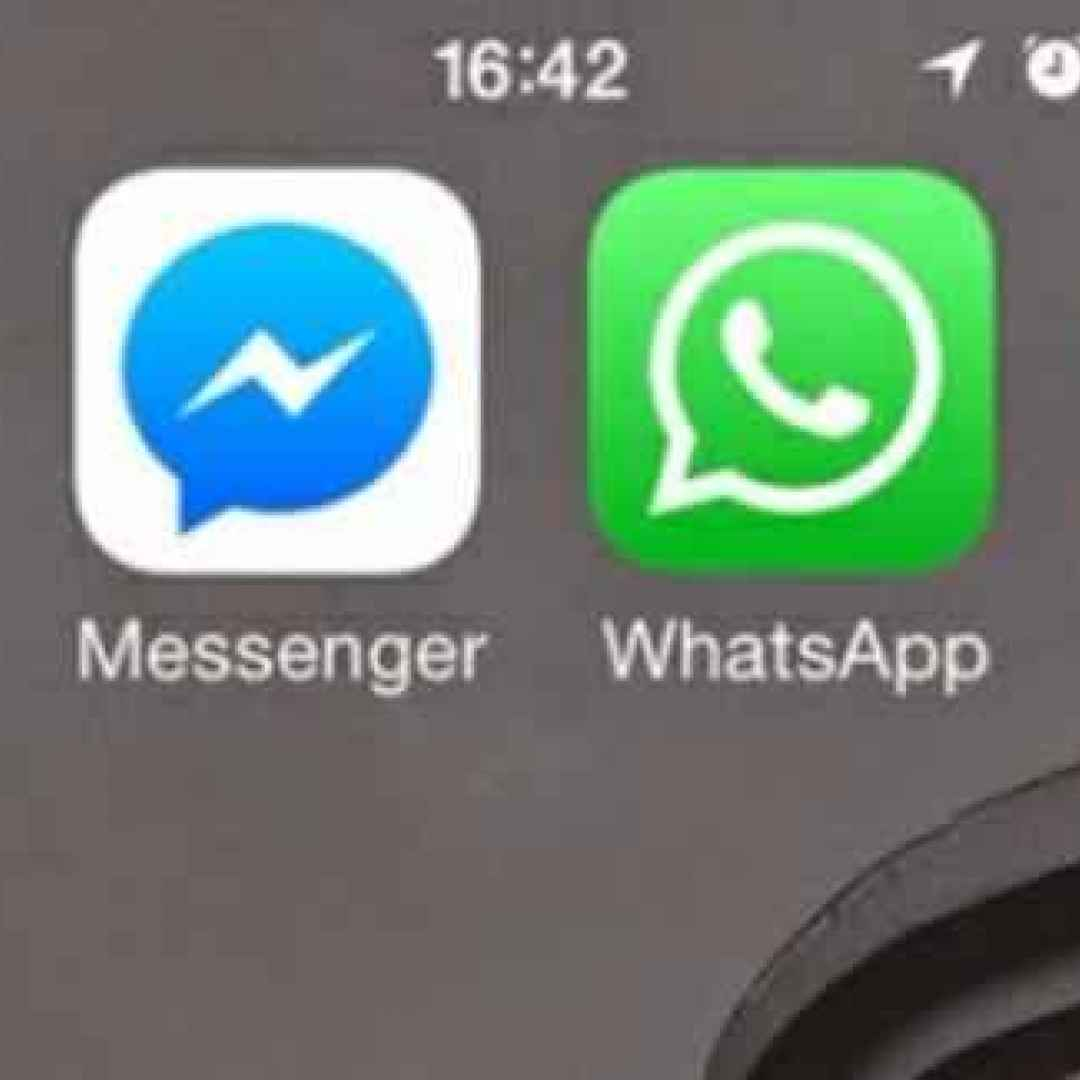 messenger  instagram  whatsapp