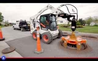 Tecnologie: lavori  città  urbanistica  tombini