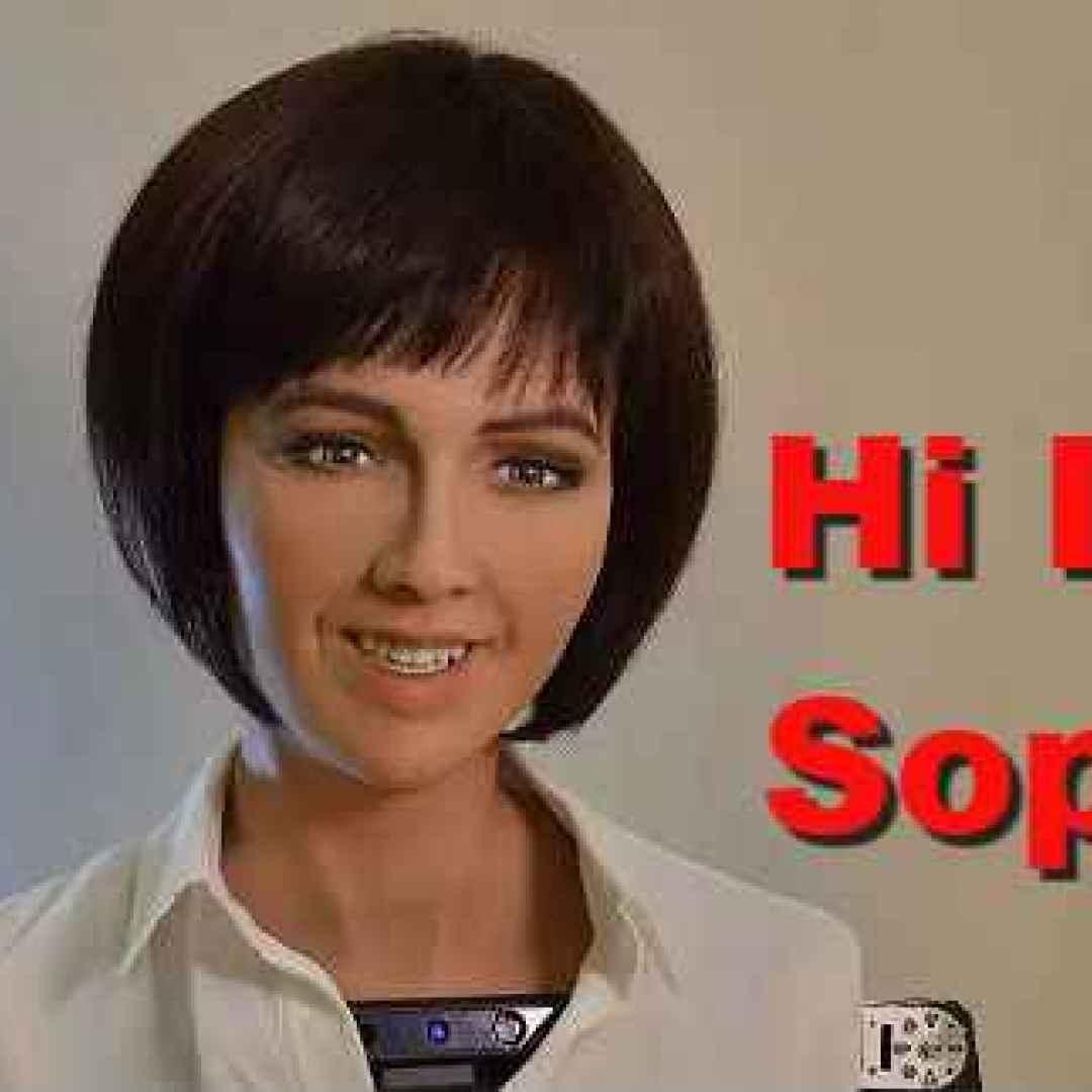 Sophia il robot che terrorizza l